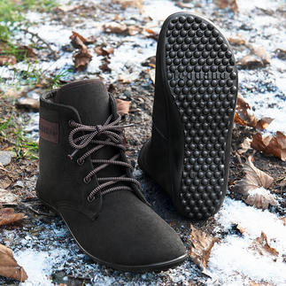 Barefoot leguano® Lace-up Boots Healthy and relaxing like walking barefoot. Handmade in Germany.