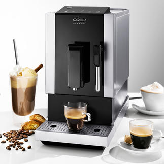 Caso® Automatic Coffee Machine Café Crema One Makes everything. Looks good. And takes up little space.
