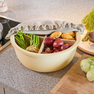 Ceramic Storage Bowl CeraNatur® Light-protected and well-ventilated; your potatoes, garlic, apples, ... are stored optimally.