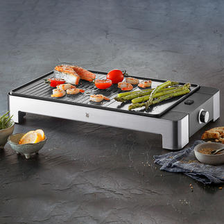 WMF Design Table-Top Grill LONO Everything that you expect from a premium table-top grill. By WMF.