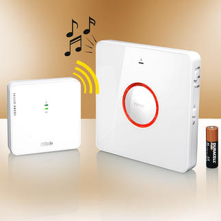 Wireless Doorbell Repeater Never miss the doorbell ringing again.