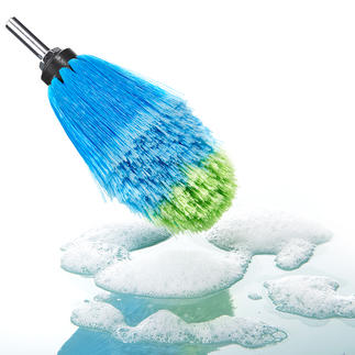 Professional Rim Brush Thorough, gentle and quick. Made in Germany.