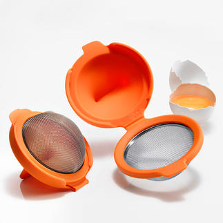 Egg Poacher, Set of 2 Quicker and easier than ever before: Poached eggs – with a perfect shape and consistency.