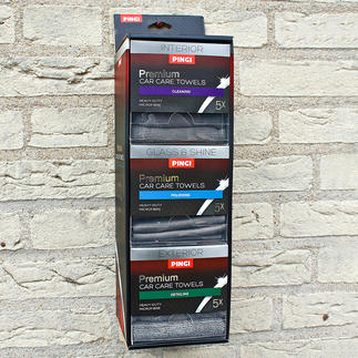 Car Care Cloth Dispenser Now you can always have the right car care cloth for the right job.