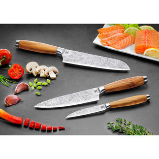 """Gehring Knife Series """"Grass"""" Unique blade design with ingenious non-stick properties. German quality."""