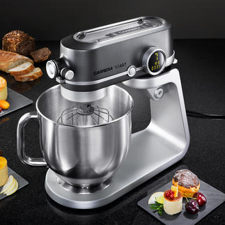 CARRERA Food Processor No 657 The test winner among upmarket food processors. Quality design and product from CARRERA.