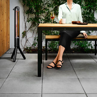 Design Patio Heater HEATUP Perfect functionality in Scandinavian design. By evasolo, Denmark.