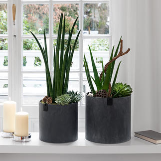 Ultralight Vase or Ultralight Planters, Set of 2 Ultralight, waterproof and resource-saving.