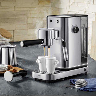 WMF Espresso Machine Lumero Professional Thermoblock technology. Simple operation. Elegant stainless steel design.