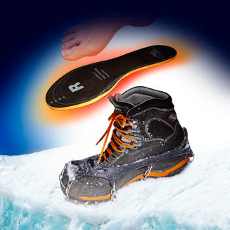 chili-feet Warming Insole, One Pair Turns kinetic energy into heat with each step. Swiss quality product.