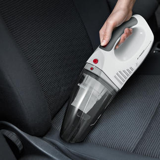 S'Power® Battery Hand Vacuum Vacuums up wet and dry. Runs on battery and 12V plug-in.
