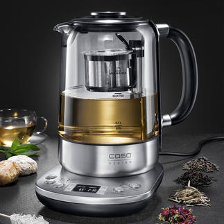 Gourmet Tea Maker The intelligent tea maker prepares the most diverse tea specialties exactly right. Fully automatic.