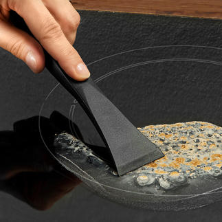 Scratch-free Stove Scraper Powerful and much gentler on the surface. 100% hygienic and safe to handle.