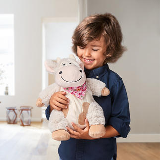 Swiss Pine Plush Cow Swiss pine soft toy cow Emma helps children sleep deeply and peacefully.