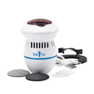 PediVac™ Pedicure Much more hygienic: The electric pedicure with suction function.