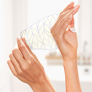Age Correct Hand Mask, 2 x 2 masks in set Dry sheet-infuser that makes them wonderfully soft again. By Wonderstripes.