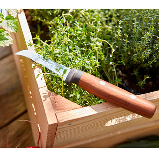 Wüsthof Harvesting Knife The professional knife for gardening: Precise, sharp and with a curved blade.