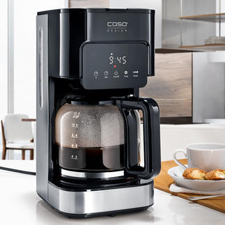 Caso Coffee Maker Taste & Style Everything you would expect from the perfect filter coffee maker. At a very good price.