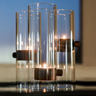 Elevator Tea Light Holder XL The lantern with floating candlelight seems to defy gravity. From Philippi/Germany.
