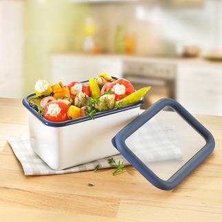 Enamel Multipurpose Boxes All-rounders for the kitchen. Made of enamel.