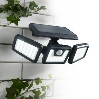 1,000 Lumen Solar Safety Light Ingeniously flexible adjustable solar lamp for better safety.