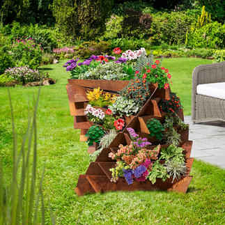 Raised Bed Field Bindweed Comfortable raised form: The raised bed triples the usable area. High-quality construction, made in Germany.