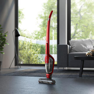 2-in-1 Battery-operated Vacuum Cleaner QX8 The battery-operated vacuum cleaner with 6x higher dirt extraction from gaps, joints and cracks.