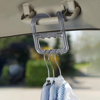 Clothing Transport Aid travel buddy® Grab up to 9 clothes hangars at once - easily with just one hand.