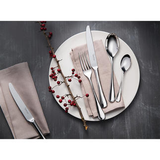 Design Cutlery Radford, 42-piece set Robert Welch's design classic from 1984 – now in an updated edition.