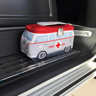 VW First Aid Kit Who says first aid kits always have to look boring?