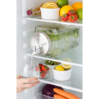 Drinks Dispenser Fresh & Cold Cool and even iconic: 3-litre fridge drinks dispenser.