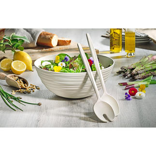 Salad Set Tierra Handmade like the finest pottery – but using recycled PET bottles.