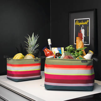 Storage Baskets, Set of 3 pieces Perfect for stowing, storing and transporting.