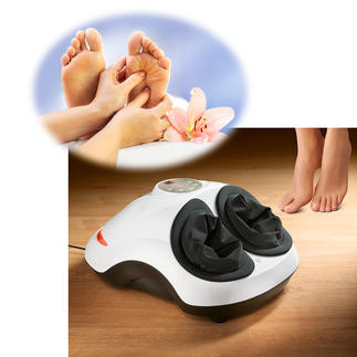 Foot Reflex Zone Massager Therapy for stressed feet. Practical to keep beside you. You can even use it at your desk.