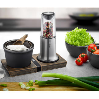 Salt or Pepper Mill or Jar X-Plosion® Award-winning design. Superior grinding technology.