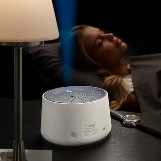 Sleeping Aid Get to sleep more easily. In a natural way – with calming light and sound compositions.