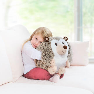Noxxiez Hand Warmer Pillow Cuddly animal, hand warmer and cuddly pillow in one.