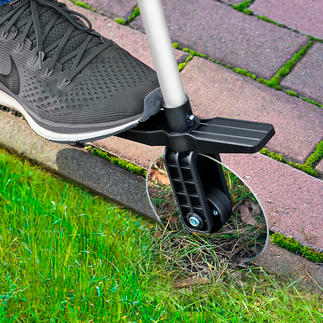 Telescopic Rolling Lawn Edge Trimmer Neatly trimmed lawn edges while keeping your back straight.