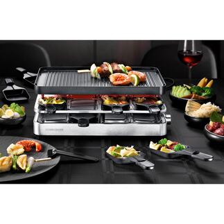 Combi Raclette RC 1400 Design highlight and all-rounder. By Rommelsbacher.