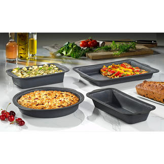 Fibreglass Silicone Baking Tins The high-tech material of professional baking tins – now also for use at home.