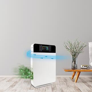 6-in-1 Air Purifier Highly effective 6-part filter technology creates up to 99% pure air. In an elegant design and at a great price.