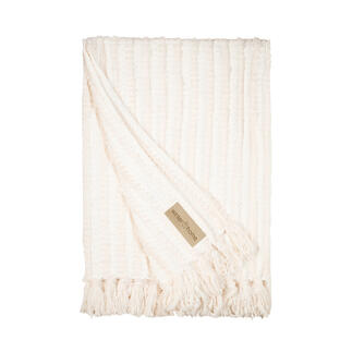 Chenille Faux Fur Knitted Blanket Snuggle up in the softest throw blanket. Wonderfully light against the skin.