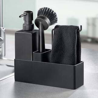 ZONEDenmark Washing up Organiser Award-winning Danish design keeps the kitchen sink and work tops tidy and organised.