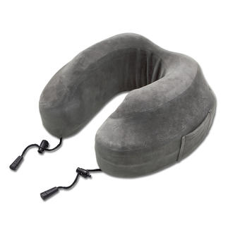 """Evolution Pillow™"" Neck Pillow From the USA: The luxury travel pillow. Made from ergonomically shaped    visco-elastic foam."