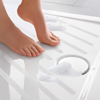 Satho® Non Slip Strips, Set of 10 For showers and baths. Self-adhesive. Practically invisible.