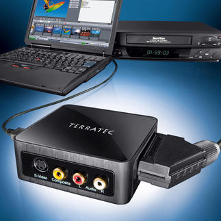 Video Converter TerraTec G3 The video converter that digitises analogue videos. Includes restoration software.