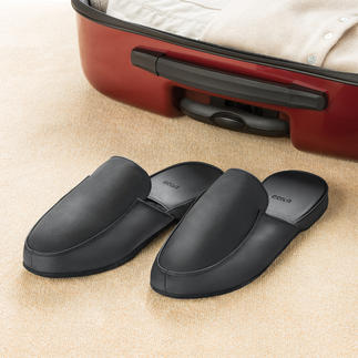 Leather Slippers for men and women Look good at all times – in these comfortable nappa leather slippers.