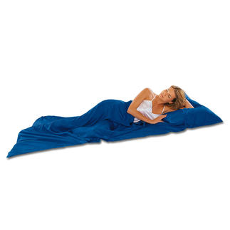 Silk Sleeping Bag Now you can lie on your own clean linen.