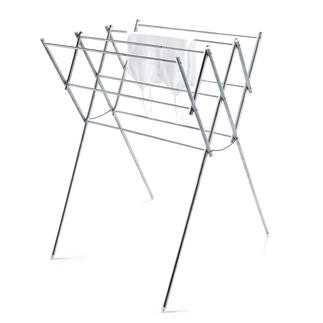 Stainless Steel Clothes Airer Compact – or spacious. Yet always stable.