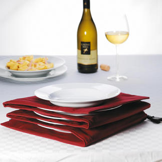 Plate Warmer Heats the centre of the plate, leaves the edges lukewarm. Holds up to 8 large pasta or dinner plates.